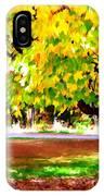 Autumn Trees 6 IPhone Case