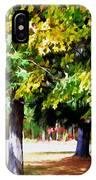 Autumn Trees 7 IPhone Case