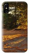Autumn Trees Near Lake IPhone Case