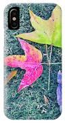 Autumn Trio IPhone Case