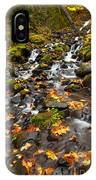 Autumn Tumbles Down IPhone Case