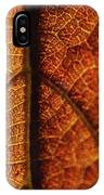 Autumn Veins IPhone Case