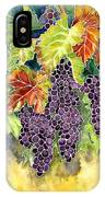 Autumn Vineyard In Its Glory - Batik Style IPhone Case