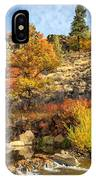 Autumn Waters Of The Susan River IPhone Case