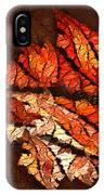 Autumn Wind IPhone Case