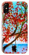 Together In Autumn  IPhone Case