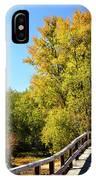 Autumnal North Bridge IPhone Case