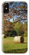 Autumnal Scenery Along Helmstetler Road IPhone Case