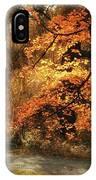 Autumn's Audience IPhone Case