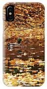 Autumns Mallards IPhone Case