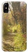 Autumns Path IPhone Case