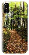 Autumn's Trail IPhone Case