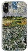 Landscape Auvers28 IPhone Case