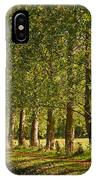 Avenue Of Trees On The Kennet And Avon Canal IPhone Case