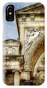 Avignon Opera House Muse 1 - Vintage Version IPhone Case