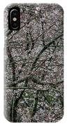 Awash In Cherry Blossoms IPhone Case