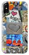Awesome Hearts - Collage IPhone Case