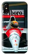 Ayrton Senna 1 IPhone Case