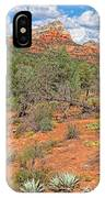 Az-sedona-soldier Pass Trail. IPhone Case