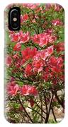 Azalea Bush 2  IPhone Case