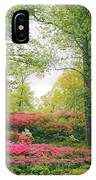 Azalea Hillside IPhone Case