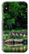 Azalea Pond IPhone Case