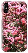 Azaleas Aplenty IPhone Case