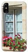 Azay Le Rideau Bridge, Window, Lace IPhone Case