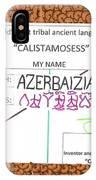 Azerbaizian IPhone Case