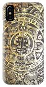 Aztec Calendar IPhone Case