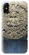 Aztec Calendar Stone IPhone Case