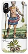 Aztec: Chocolate, 1685 IPhone Case