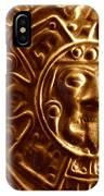Aztec Gold Photograph IPhone Case