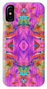Aztec Kaleidoscope - Pattern 009 IPhone Case