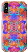Aztec Kaleidoscope - Pattern 015 IPhone Case