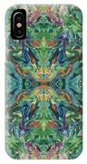 Aztec Kaleidoscope - Pattern 018 - Earth IPhone Case