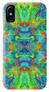 Aztec Kaleidoscope - Pattern 026 IPhone Case