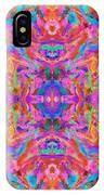 Aztec Kaleidoscope - Pattern 032 IPhone Case