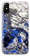 Azul Diablo IPhone Case