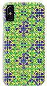 Azulejos Magic Pattern - 08 IPhone Case