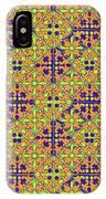 Azulejos Magic Pattern - 09 IPhone Case