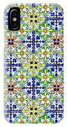 Azulejos Magic Pattern - 11 IPhone Case