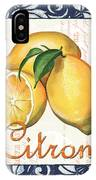 Azure Lemon 2 IPhone Case