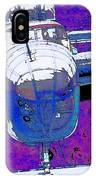 B-25 Blue Purple IPhone Case