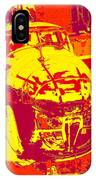 B-25 Red Yellow IPhone Case