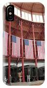 B And O Museum Roundhouse In Baltimore Maryland IPhone Case