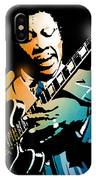 B B King IPhone Case