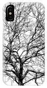 B/w Tree #1 IPhone Case