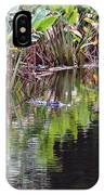 Babcock Wilderness Ranch - Alligator Den IPhone Case