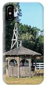 Babcock Wilderness Ranch - Windmill IPhone Case